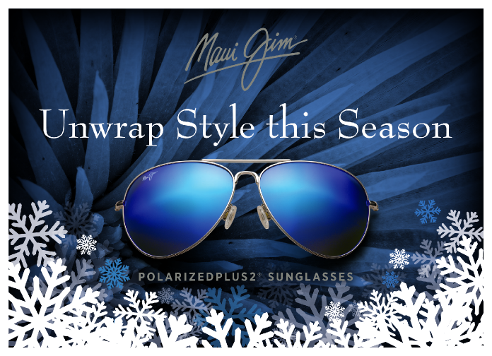 Buy One, Get one 50% off Maui Jim Sale! ⠀ 😎Buy one complete pair of Maui Jim prescription sunglasses or prescription eyeglasses, get 50% off the second prescription pair of Maui Jim prescription eyeglasses (both frame and lenses)⠀ 😎Discount applies to Ophthalmic frames and clear lenses only.