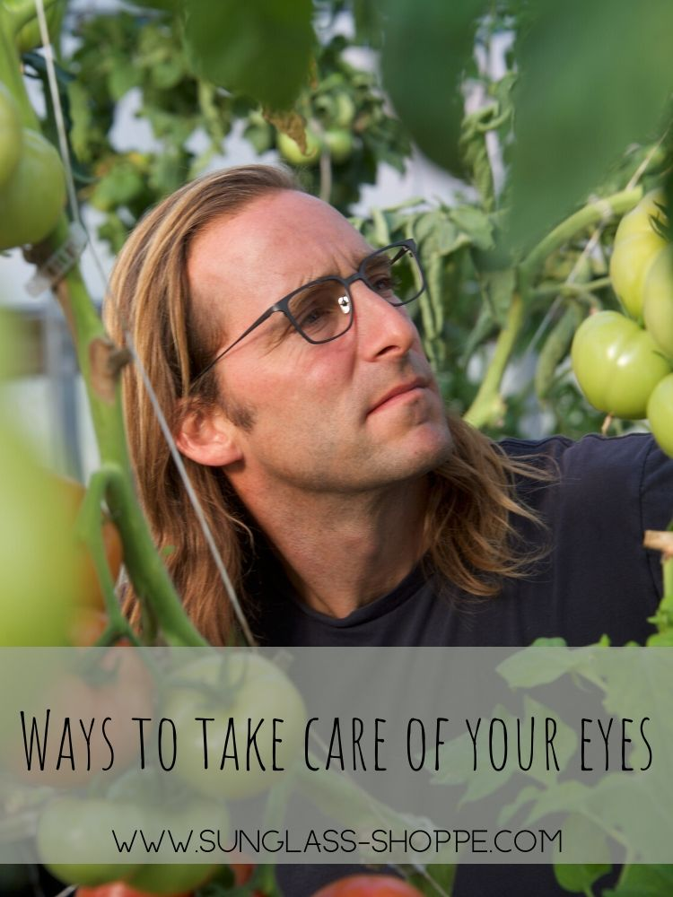 Ways to Take Care of Your Eyes from The Sunglass Shoppe in Petoskey, Traverse City, and Charlevoix, MI