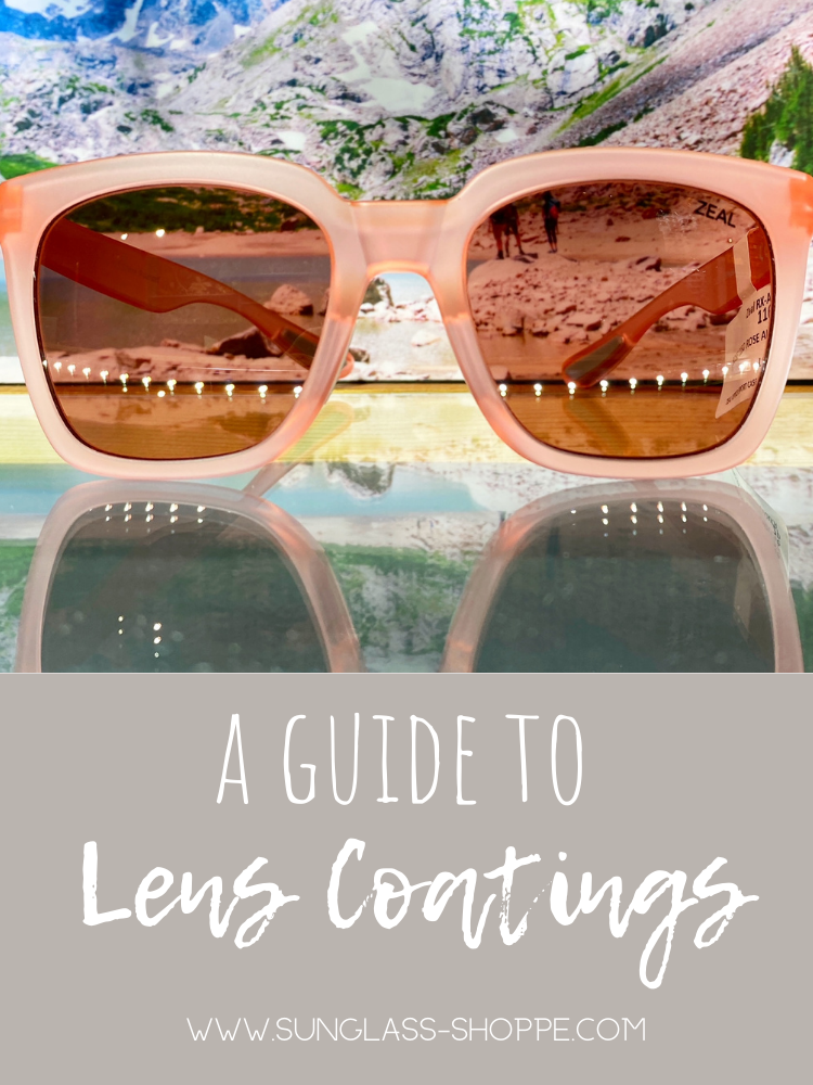When choosing a pair of eyeglasses, what do you look for? A certain color frame, a brand you love? Have you ever chosen based on lens colors and coatings? Here's a guide to lens coatings to help you out.